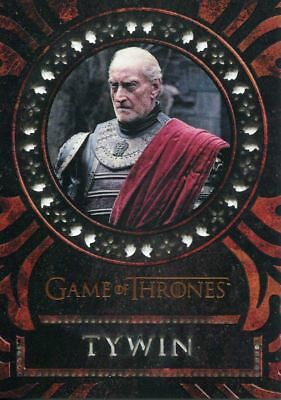 Game Of Thrones Valyrian Steel Laser Cut Chase Card LC18 Tywin Lannister