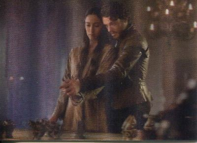 Game Of Thrones Valyrian Steel 3d Lenticular Chase Card L10 Robb and Talisa Dis