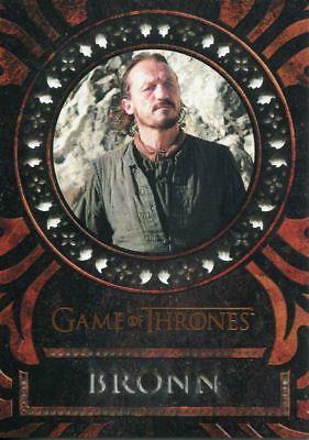 Game Of Thrones Valyrian Steel Laser Cut Chase Card LC12 Bronn