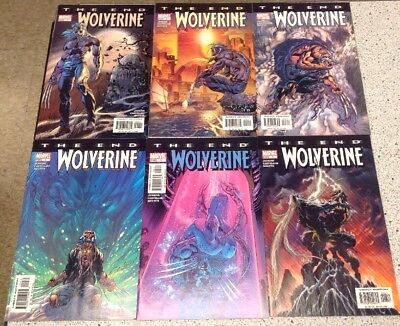 WOLVERINE: The End 1 2 3 4 5 6 (Marvel Comics 2004) Lot Of 6 Jenkins Full Set