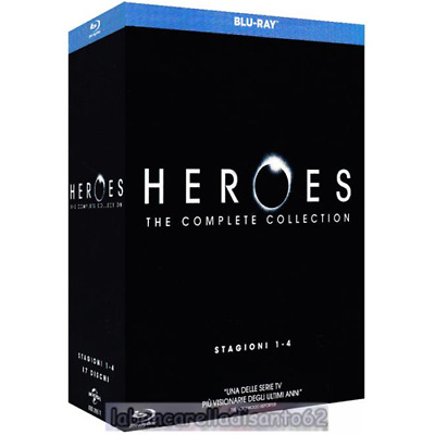 Blu-Ray - Heroes - The complete collection (17 Dischi)
