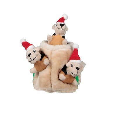 Kyjen Xmas Hide A Squirrel Small Dog Christmas Holiday. Free Shipping To The Usa