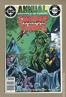 Swamp Thing (1982 2nd Series) Annual #2 VG+ 4.5