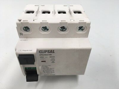 Clipsal Safety Switch 4Rc463/30