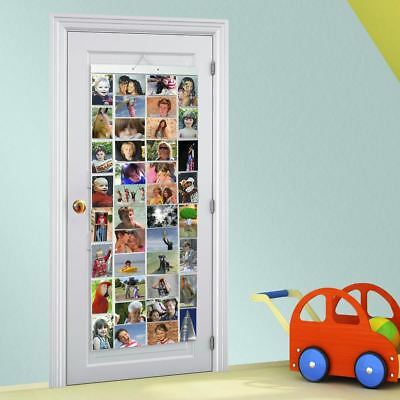 Picture Pockets Mega For 80 Photos Hanging Gallery Frame Display Wall Door