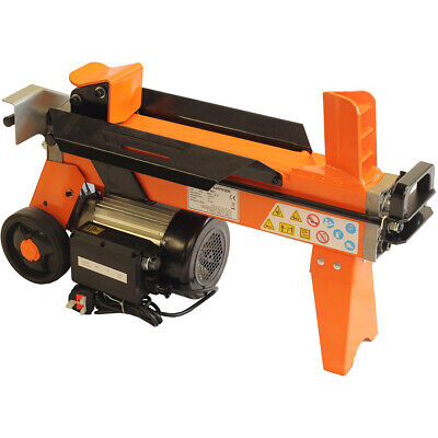 Log Splitter 5 Ton Fast Electric Hydraulic Wood Timber Cutter 2200 Watt Motor