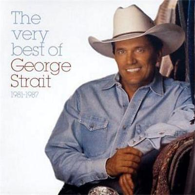 GEORGE STRAIT The Very Best Of 1981-1987 CD BRAND NEW