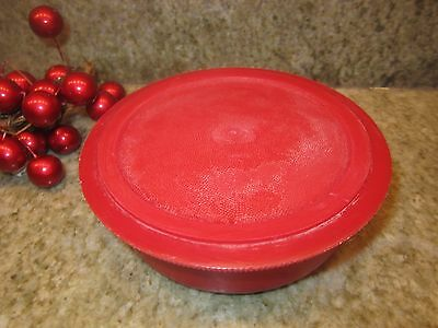 """Vintage Red Thermos Brand Picnic Jug Replacement 4"""" diameter Stopper Plug"""