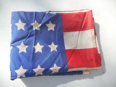 Vintage 48 Star Silk Flag Size 31 Inches Wide 42 Long