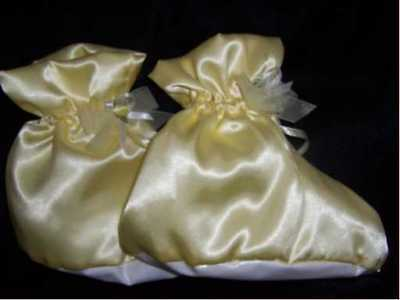 Adult Baby/Sissy/Maid/Fetish Padded Bootees with Locking Option