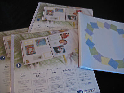 Creative Memories Baby 12x12 Scrapbook Pages Refill New Sealed
