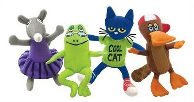 """Pete the Cat & Friends Playset: 4 5"""" - 6.5"""" EA (Soft Toysoft or Plush Toy)"""
