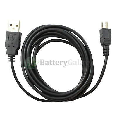 1 2 3 4 5 10 Lot USB 6FT A Male to Mini B Male Printer Scanner Camera Cable Cord