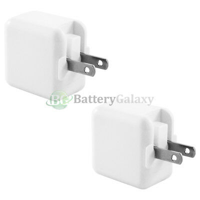 2 Battery USB RAPID Wall Charger Adapter for Apple iPhone 5 5C 5S 6 6s 7 7s Plus