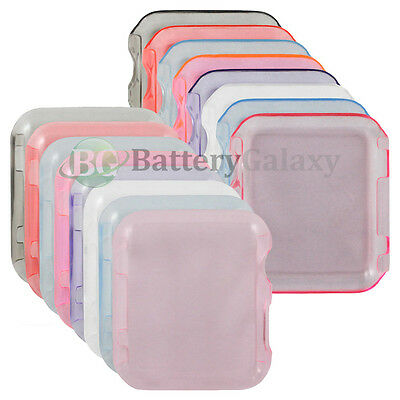 CLEARANCE Lot of 8 Transparent Snap On Case for Apple iWatch Sport Watch 38mm