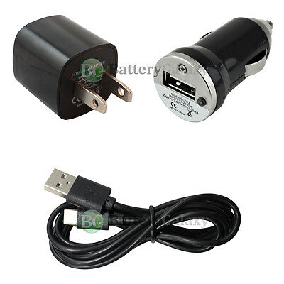 NEW 6FT USB Type C Cable+Car+Wall Charger for Motorola Moto Z Force/Play Droid