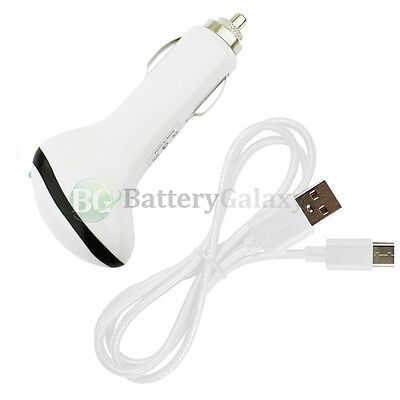 NEW USB Type C Cable+RAPID Car Charger for Motorola Moto Z/Z Force/Z Play Droid