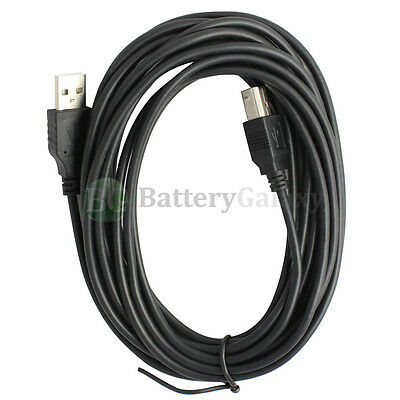 For HP CANON DELL BROTHER PRINTER CABLE CORD USB 2.0 A-B 15FT NEW 2,000+SOLD