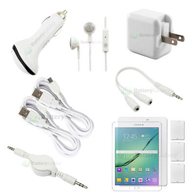 """10pc NEW 2X USB 6FT Cable+2X FAST Charger for Android Samsung Galaxy Tab S2 9.7"""""""