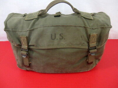 WWII US Army OD Green M1945 Lower Cargo Combat  Pack - Dated 1945 - Nice #6