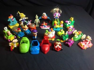Mcdonalds Happy Burger King Kids Meal Toys Lot Muppets Snoopy