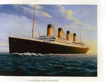 Titanic  Large Poster. Limited  Edition.