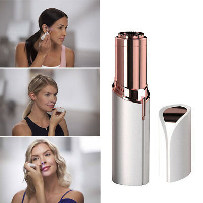 Women Perfect Finishing Touch Flawless Painless Hair Remover Facial Hair Remover