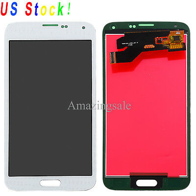 For Samsung Galaxy S5 i9600 G900 G900F G900T LCD Touch Screen Digitizer Replace