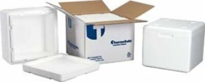 Tegrant Thermosafe ThermoSafe Insulated Shippers, Expanded Polystyrene: 321UPS
