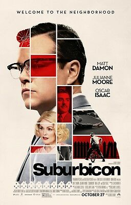 Suburbicon - original DS movie poster - 27x40 D/S  FINAL Matt Damon