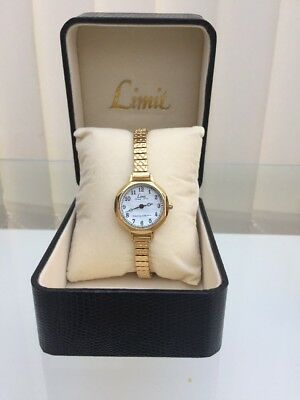 New Limit Ladies watch Gold Plated Expander RRP £79(a56