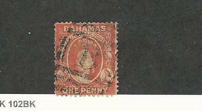 Bahamas, British, Postage Stamp, #16 Used, 1863