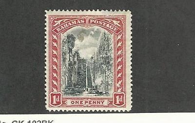 Bahamas, British, Postage Stamp, #33 Mint Hinged Wmk 1, 1901