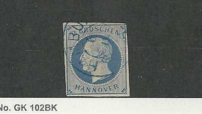 Hanover - Germany, Postage Stamp, #20 Used, 1859