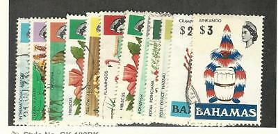 Bahamas, British, Postage Stamp, #313//330 Used (12 Different), 1971