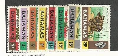 Bahamas, British, Postage Stamp, #314//400 Used (8 Different), 1971