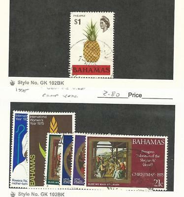 Bahamas, British, Postage Stamp, #328, 378-9, 380-3 Used, 1971-75