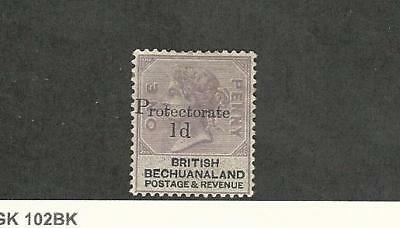 Bechuanaland, Postage Stamp, #60 Mint Hinged, 1888