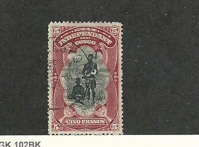 Belgian Congo, Postage Stamp, #26 Used, 1901