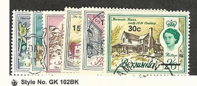Bermuda, Postage Stamp, #239//250 (6 Different) Used, 1970