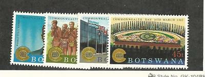 Botswana, Postage Stamp, #321-324 Mint Hinged, 1982