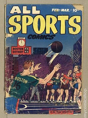 All Sports Comics (1948) #3 FR 1.0 LOW GRADE