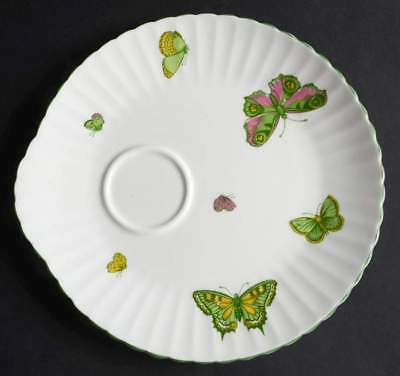 Crown Staffordshire BUTTERFLY Snack Plate 10106612