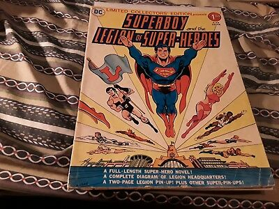 Limited Collectors' Edition C-49 SUPERBOY AND THE LEGION OF SUPER-HEROES c#15173