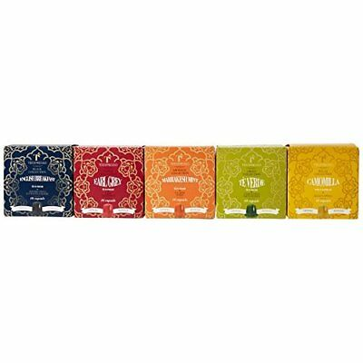 Teespresso Nespresso Compatible Five Flavours Taster Pack Tea Capsules (Pack of