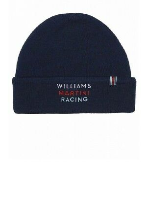 HAT Beanie Williams Martini Racing Formula One Team 1 F1 Hackett Sponsor NEW!