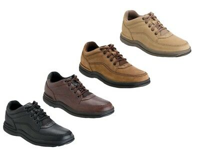 Rockport World Tour Classic Men's Leather Oxfords Walking Shoes