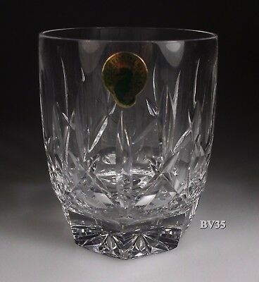 """Waterford Crystal Westhampton Double Old Fashioned Glasses  4 1/8"""" - Perfect"""