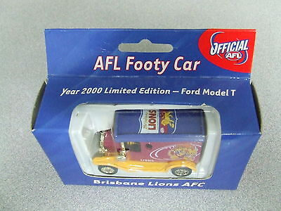 RARE 2000 AFL Football Collectable Club Car BRISBANE LIONS  T Model Ford