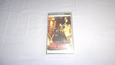ONCE UPON A TIME IN MEXICO  , umd video for psp, new/sealed